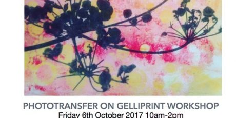 Phototransfer on Gelliprint with Emma Taylor