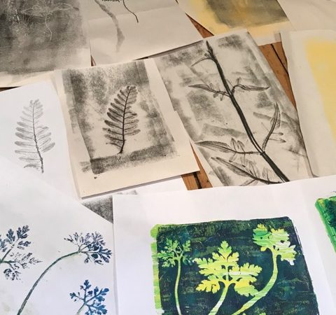 Botanical Gelliprint & Mono Print with Emma Taylor