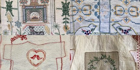 Indian Garden Textile workshop with Anne Kelly