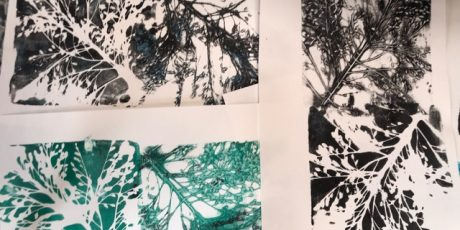 Botanical Gelli and Monoprinting with Emma Taylor