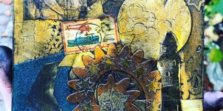 Printing with Collage (collagraph) with Emma Taylor