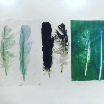 Paper Cloth, Prints and plants with Hilary Phillips