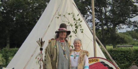 Blackfoot Lodge Native American Enthusiasts Camp