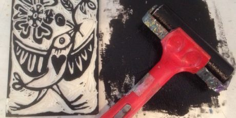 Lino Printing workshop with Emma Taylor