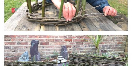 Plant Support Workshop with Hedges and Hurdles