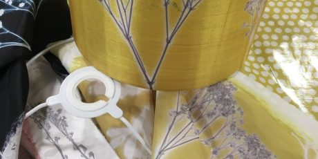 Creative Mixed Media – Textile Lampshade 1. -with Hilary Philips